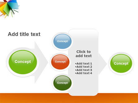 Color Paper PowerPoint Template Slide 17