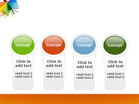 Color Paper PowerPoint Template Slide 5