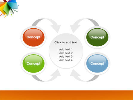 Color Paper PowerPoint Template Slide 6