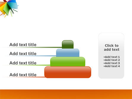 Color Paper PowerPoint Template Slide 8
