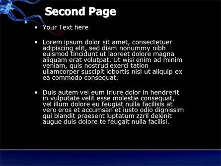 Communicating Neurons PowerPoint Template, Slide 2, 04356, Medical — PoweredTemplate.com