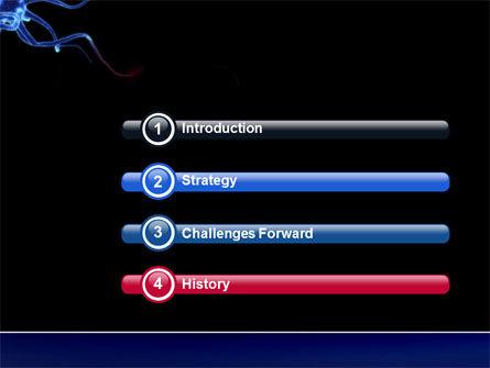 Communicating Neurons PowerPoint Template, Slide 3, 04356, Medical — PoweredTemplate.com