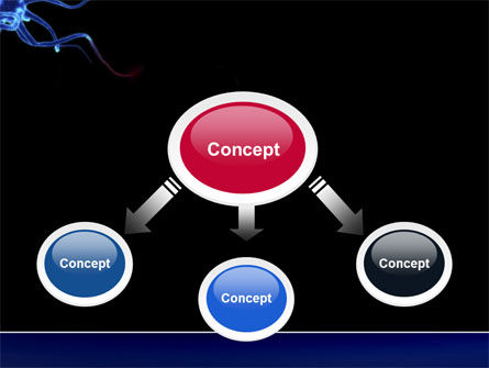 Communicating Neurons PowerPoint Template, Slide 4, 04356, Medical — PoweredTemplate.com