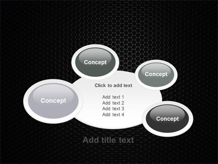 Black Grid PowerPoint Template Slide 16