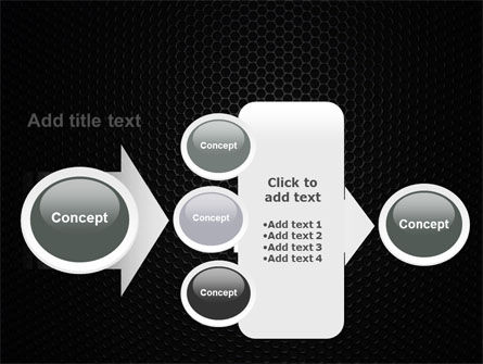 Black Grid PowerPoint Template Slide 17