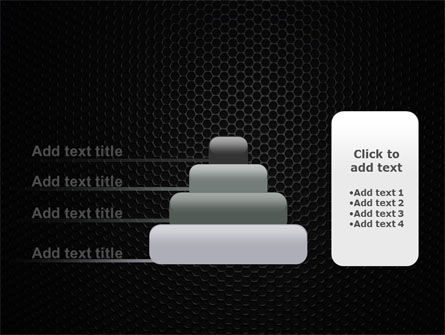 Black Grid PowerPoint Template Slide 8