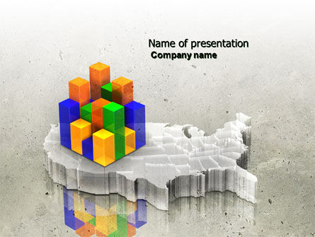 Business Concepts: Modelo do PowerPoint - demografia #04359