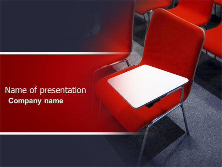 Education & Training: Lecture Room PowerPoint Template #04361
