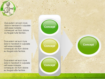 Recycling Circle PowerPoint Template Slide 11