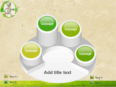 Recycling Circle PowerPoint Template Slide 12