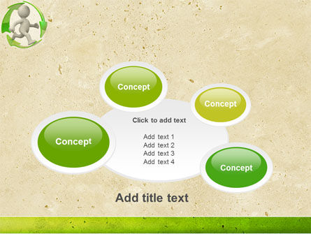 Recycling Circle PowerPoint Template Slide 16