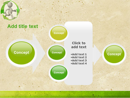 Recycling Circle PowerPoint Template Slide 17