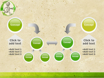Recycling Circle PowerPoint Template Slide 19