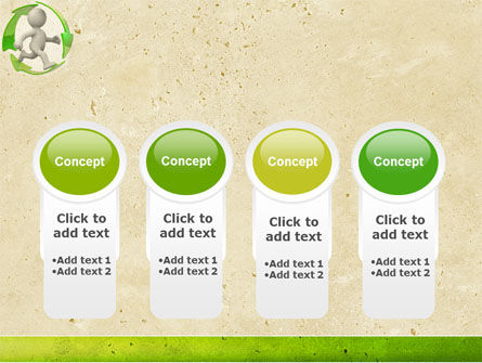 Recycling Circle PowerPoint Template Slide 5