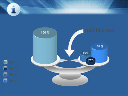 Information Icon PowerPoint Template Slide 10