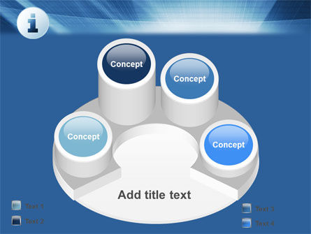 Information Icon PowerPoint Template Slide 12