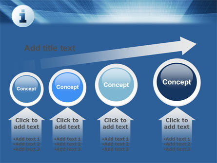 Information Icon PowerPoint Template Slide 13