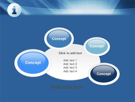 Information Icon PowerPoint Template Slide 16