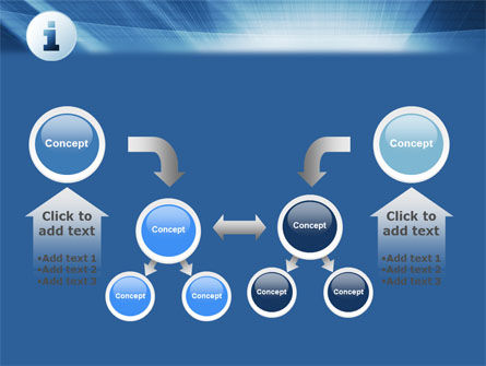 Information Icon PowerPoint Template Slide 19