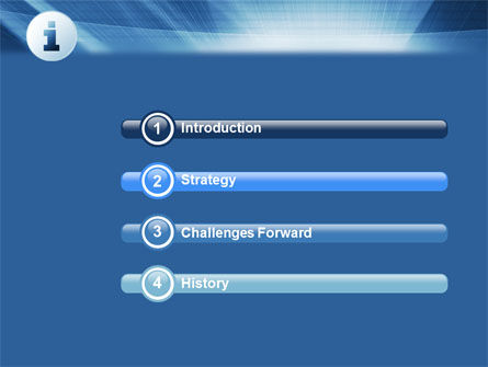 Information Icon PowerPoint Template, Slide 3, 04363, Careers/Industry — PoweredTemplate.com