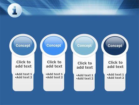 Information Icon PowerPoint Template Slide 5
