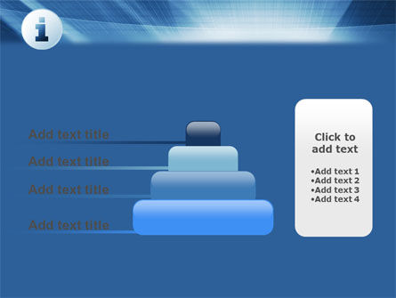 Information Icon PowerPoint Template Slide 8