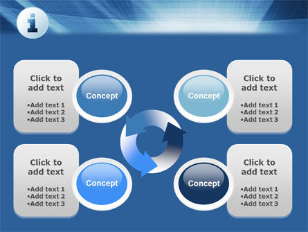 Information Icon PowerPoint Template Slide 9
