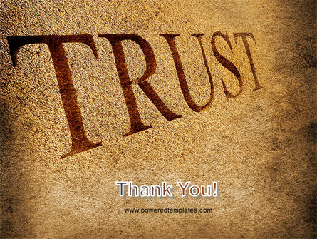 Trust PowerPoint Template Slide 20