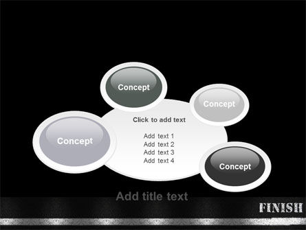 Finish Line PowerPoint Template Slide 16