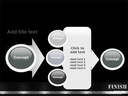 Finish Line PowerPoint Template Slide 17