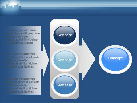 City Scenery PowerPoint Template Slide 11
