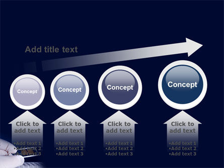 DNA Chip PowerPoint Template Slide 13