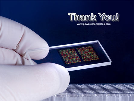 DNA Chip PowerPoint Template Slide 20