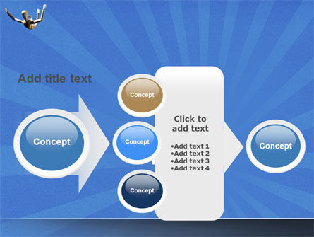 Falling PowerPoint Template Slide 17
