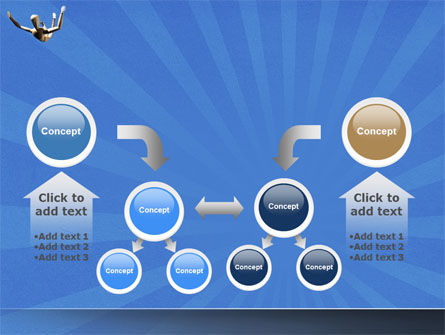 Falling PowerPoint Template Slide 19