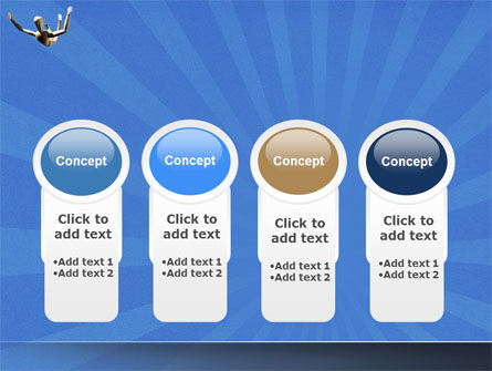 Falling PowerPoint Template Slide 5