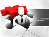 Business Concepts: Modello PowerPoint - Soluzione di crisi aziendali #04375