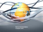 Global: Modello PowerPoint - Mondo tendenze globali #04376