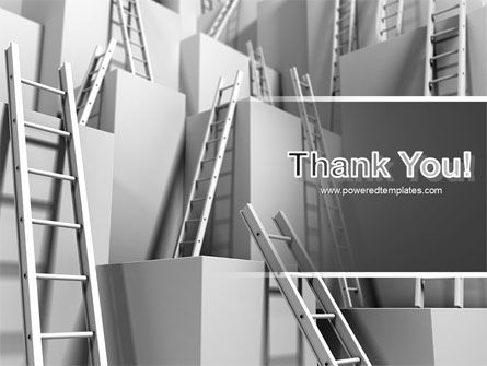 Ladders PowerPoint Template Slide 20