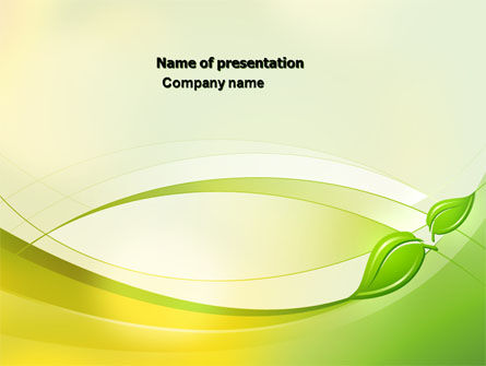 Nature & Environment: Conceived Life PowerPoint Template #04383