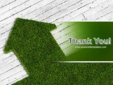 Green Lawn PowerPoint Template#20
