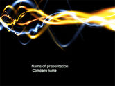 Abstract/Textures: Gas PowerPoint Template #04388