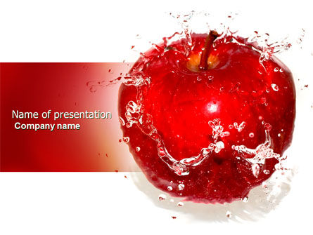 Food & Beverage: Freshness PowerPoint Template #04397