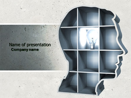 Education & Training: Corner of Mind PowerPoint Template #04398