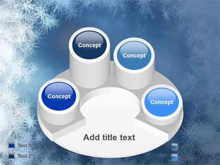 Snow Play PowerPoint Template Slide 12