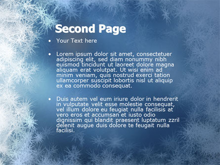 Snow Play PowerPoint Template Slide 2