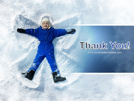 Snow Play PowerPoint Template Slide 20