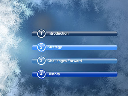 Snow Play PowerPoint Template Slide 3