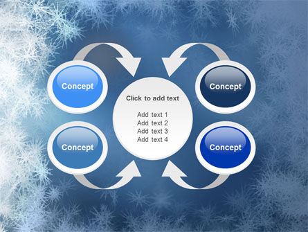 Snow Play PowerPoint Template Slide 6
