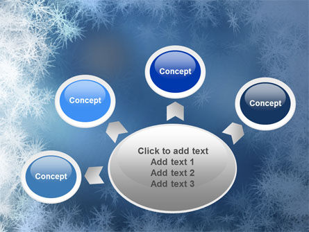Snow Play PowerPoint Template Slide 7
